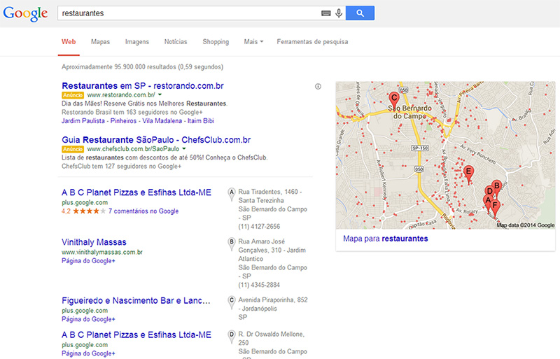 Busca Local SEO